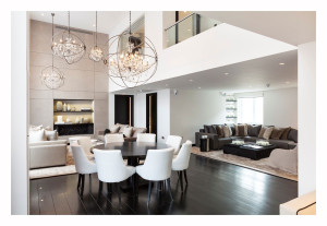 Elegant-Chandeliers-Dining-Table-Living-Space-Open-Plan-Henrietta-Street-Apartment
